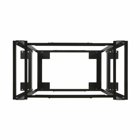 24U 4-Post Adjustable Rack