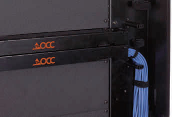 30 Vertical Cable Manager & Thermal Barrier - Left