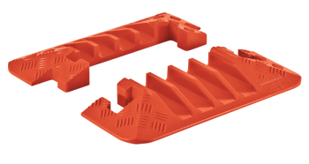 4-Channel End Caps for Linebacker Extra Heavy Duty 4 Channel Cable Protectors