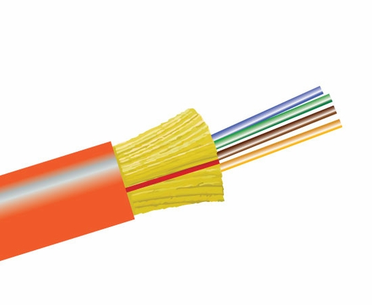 4-Fiber 50/125 OM2 Ultra-Fox In/Outdoor Distribution, Riser Rated