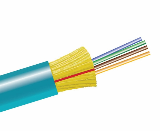 4-Fiber 50/125 OM4 Ultra-Fox In/Outdoor Distribution, Riser Rated
