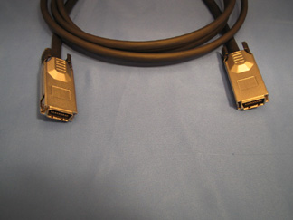 4X-4X DDR Cable, 1 Meter with Latches
