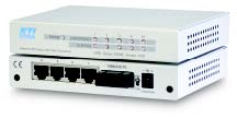 5-port switch with 4 x 10/100 & 1 x 100FX, Multimode, SC