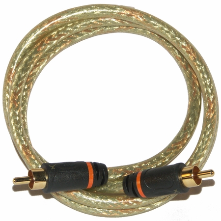 12ft. RCA to RCA GoldX Audio Cable, SPDIF Digital Coaxial