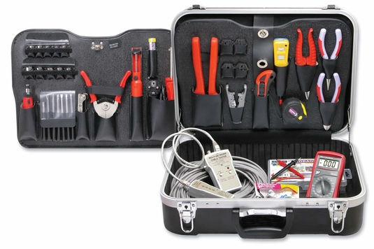 55 Piece Network Installer & Coaxial Termination Kit