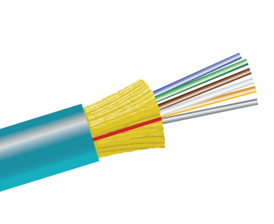 6-Fiber 50/125 OM4 Ultra-Fox In/Outdoor Distribution, Riser Rated