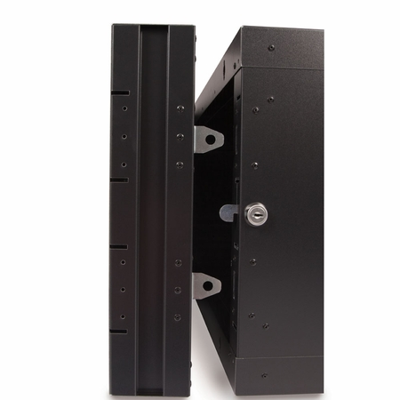6U LINIER Swing-Out Wall Mount Cabinet