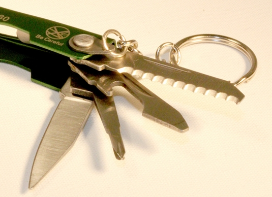 7-In-1 Multi-Function Pocket Tool Key Chain