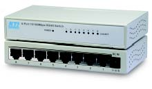 8 port 10/100TX Nway switch. External power
