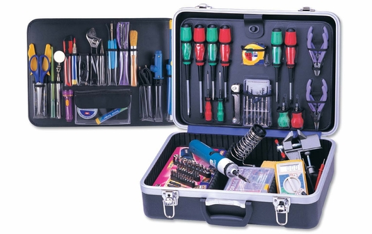 85 Piece Deluxe Complete Computer Service Tool Kit
