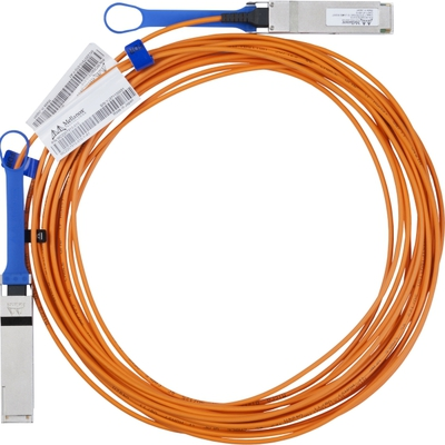 Mellanox® Active Fiber Cable, VPI, Up To 56GB/s, QSFP, 20m