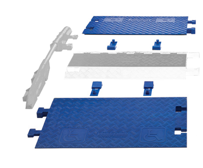 ADA Ramps for Guard Dog GD3X225 (2 Ramps and 4 Connectors)