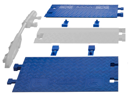 ADA Ramps for Linebacker CP1X125-GP (2 Ramps and 4 Connectors)