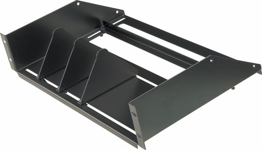 Adjustable 8 Receiver Rack Shelf