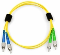 Angle Polish (APC) Fiber Patch Cables