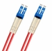 Armored LSZH LC-LC Fiber Patch Cable, Singlemode 9/125 OS2, Duplex