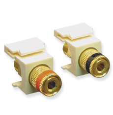 Binding Post Module, Gold Plated;