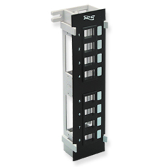 Blank Patch Panel, Vertical, 8-Port Flush