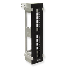 Blank Patch Panel, Vertical, HD,12-Port