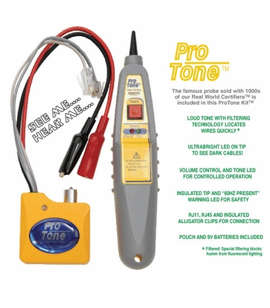 ByteBrothers ProTone Wire Locator Kit