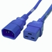 C14 to C19 Power Cable - 3ft Blue 15Amp Power Cord