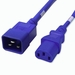 C20 to C13 Power Cable - 2ft Blue 15Amp Power Cord