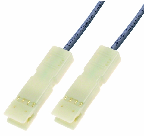 Cat5e, 2-Pair, 110 to 110 Patch Cable, Gray, 3 Foot