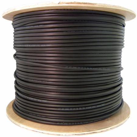 Cat 6, Direct Burial 23AWG 4PR UTP 550MHZ TIA/EIA-568-B.2 1,000 ft.