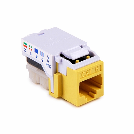 CAT 6 Flush Mount Keystone Jack