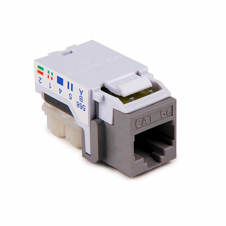 Cat5E Flush Mount Keystone Jack