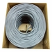 Cat6 4 pair Plenum-Rated Bulk Wire, 1000' Box, 23 AWG