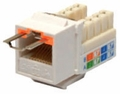 Cat 6 LocJack Keystone Jacks, 8P8C, UL