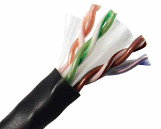 Cat6 Plenum-Rated 600MHz Ethernet Cable, UTP, 1000' Pull Box