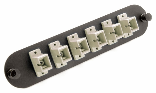 Chameleon SC 6-Port, MM/SM Adaptor Panel (Beige)