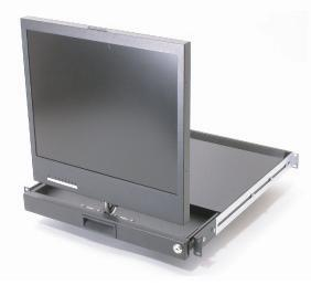 Chassis Plans Rackmount TFT/LCD -  CPR-117 - 17IN Swivel