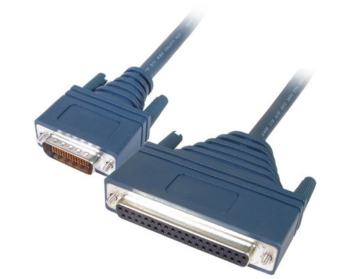 CISCO Cable, HDB60 Male - DB37 Female, OEM, 10ft DCE RS449 LFH60M-DB37F