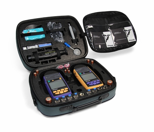 Kingfisher KI-TK072 SM/MM Contractor Certification Fibertester Kit