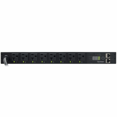 CyberPower PDU20SW8FNET 8 NEMA 5-20R Controllable Receptacles