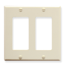 Decorex Faceplate, 2-Gang