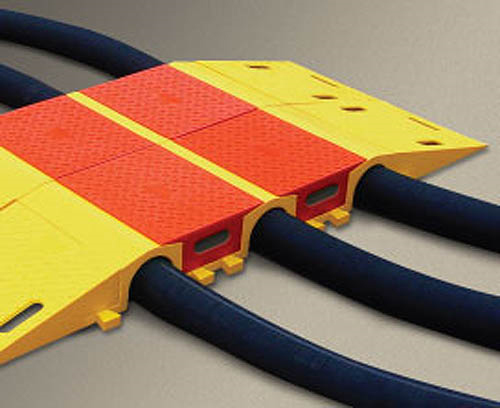 Diamondback Multiple Channel Modular Cable & Hose Bridge Systems Tunnel
