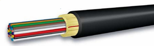 2-Strand OCC DX Series 900um Tight Buffered, In/Outdoor Dist., OFNR Riser, Singlemode 9/125 OS2