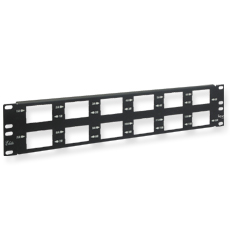 Elite Blank Patch Panel, 12-Bezel 2RMS