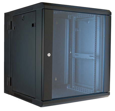 ERWEN-15E - 15RU, 19 Hinged Wall Equipment Rack Enclosure