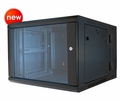 "ERWEN-6E - 6RU, 19"" Hinged Wall Equipment Rack Enclosure"