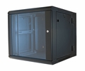 "ERWEN-9E - 9RU, 19"" Hinged Wall Equipment Rack Enclosure"