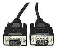 External  DB09 Male-DB09 Male, 10 Meter Cable