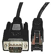 External  HSSDC Male-DB09 Male, 2 Meter, 2 GB Cable