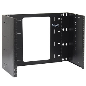 EZ-Fold Wall Mount Bracket, 6 Deep, 8U