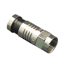 F-TYPE Connector, RG6, 100PK