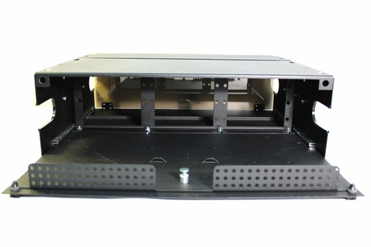 RAC-3X - Fiber Enclosure, Rack Mount, 9 Panel, 3U